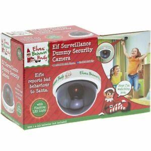 Elf Santa Cam Dummy CCTV Camera For Kids Naughty Nice List Surveillanc.