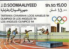 SOMALIA 1984 Foglietto Olimpiadi MNH**