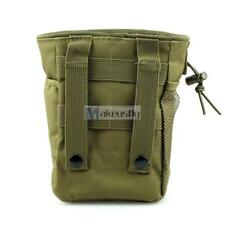 Military Airsoft Small Molle Tactical Magazine DUMP Ammo Drop Utility Pouch Bag