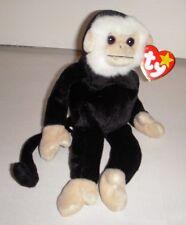 "Ty Beanie Baby ""Mooch"" The Monkey - DOB: 8-1-98 - NWT"