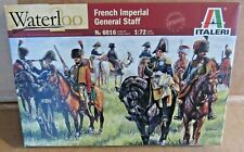 ITALERI FRENCH IMPERIAL GENERAL STAFF WATERLOO 1:72 SCALE MODEL SOLDIERS HORSES