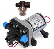 SHURflo 4009 12v Revolution Fresh Water Pump + Twist on Filter Pack - Caravan