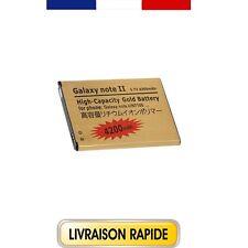 BATTERIE GOLD HAUTE-CAPACITÉ POUR SAMSUNG GALAXY NOTE 2 N7100 N7105