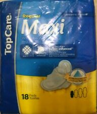 TopCare Maxi Pads ~ Regular With Flexi Wings ~ 18 Pads