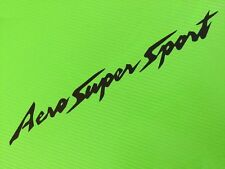 Aero Super Sport Thundercat - Track bike, road fairing Decals Stickers PAIR #55