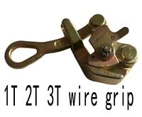 Cable Clamp Wire Pulling Grip Wire Grip Steel Wire Grip Hand Puller 2T 2-22MM