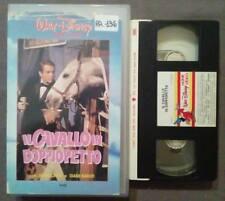 VHS fILM Ita Commedia Walt Disney IL CAVALLO IN DOPPIOPETTO ex nolo no dvd(VH49)