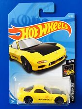 NEW 2018 Hot Wheels JDM Classic 1995 MAZDA RX-7 SPORTS COUPE - mint on long card