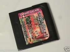 Sega Game Gear Chuck Rock II 2 Son of Chuck for use with Sega Game Gear System