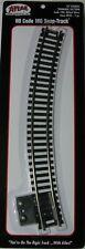 "ATLAS 845 HO Code 100 Track 18"" Radius Curve Terminal"