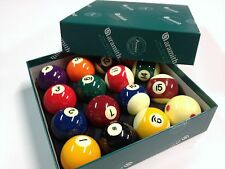 REAL Aramith Premier Pool Balls 2 inch WITH MEASLE WHITE Spot BALL AU Seller