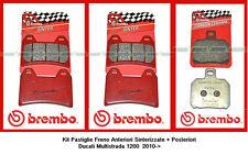 07BB19SA + 07BB2035 Pasticche Freno Brembo Sint Ant+Post Ducati Multistrada 1200