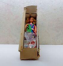 Vintage 1960's Mattel Skipper Barbie Doll Og Box Stand Shoes Outfit Booklet NIB