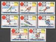 Rwanda 1972 Winter Olympics/Sports/Games/Skiing/ Ice Hockey 8v set (n22433)