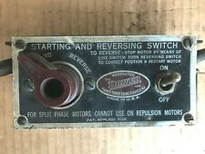 """Walker Turner """"Driver Line"""" Starting and Reversing SWITCH RX10 Toggle Start Stop"""