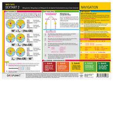 Sextant (2) - Mittagsbreite, Info-Tafel # Mittagslänge Mittagszeit Position GPS