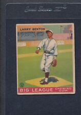 1933 Goudey #045 Larry Benton Reds VG *114