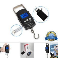 Pocket Portable Mini 50kg LCD Digital Hanging Luggage Weight Hook Scale