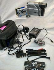 JVC Digital Video Camera Model GR-D33EK 16X Optical Zoom+Leather Antler Bag+Tape