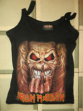 IRON MAIDEN: SHIRT (TALLA S) SOLID ROCK (MADE IN USA)