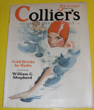 Colliers Magazine 1931 Girl Swimming – Frank Mutz cover Great Picture! See!