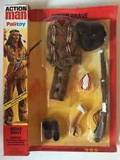 Vintage PALITOY ACTION MAN Indio Valiente Figura Conjunto de Accesorios ~ 34401 sin abrir