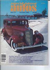 SPECIAL INTEREST AUTO - #77  1935 LaFayette, 1967 Cougar, 1956 Hudson ++++++