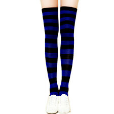 Long Pantyhose New Over Knee Cotton Strip Plus Size Women Stockings Socks Tights