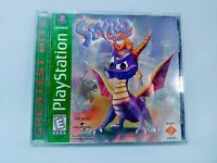 Spyro the Dragon (PlayStation 1, 1998) PS1 Video Game Greatest Hits CIB Tested