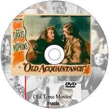 Old Aquaintance - Bette Davis, Miriam Hopkins Film DVD 1943