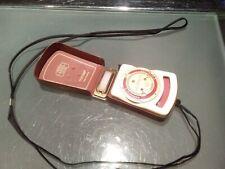 Vintage Zeiss Ikon Ikophot Rapid Light Meter in leather case working Stuttgart