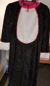 Children's Black Cat Fancy Dress Halloween Ages 5-6 7-8 9-10 11-12