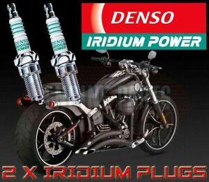 Harley-Davidson Softail Dyna Fat Boy Denso Iridium Power Performance Spark Plugs
