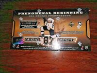 SIDNEY CROSBY Rookie Set UD GOLD EDITION Phenomenal Beginnings 20 RC' s   SEALED