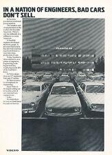 1972 Volvo 142 Engineer 144 Original Advertisement Car Print Ad J515