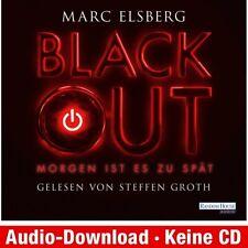 Hörbuch Download MP 3 Blackout Marc Elsberg 9783837113761