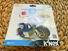 Mario Kart Wii, Toad Bike Building Set, K'Nex, Nib
