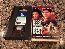 Best Of The Best 2 VHS! 1993 Korean Karate! Mortal Combat Karate Kid