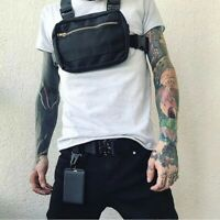 New Chest Bag For Men Tactical Vest Bag Casual Function Chest Bags Streetwear