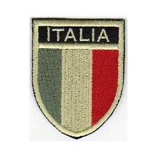 [Patch] SCUDETTO ITALIA softair bassa visibilità cm5x6,5 toppa termoadesiva -452