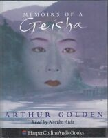 Arthur Golden Memoirs Of A Geisha 2 Cassette Audio Book Noriko Aida FASTPOST