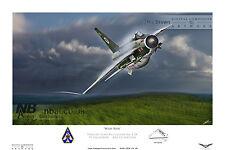 92 Squadron English Electric F.2A Lightning, Raf Gutersloh Digital Art Print