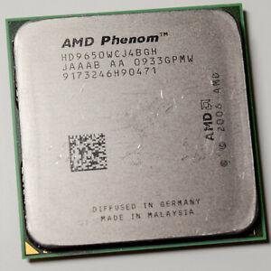 AMD Phenom X4 9650 Quad Core AM2+ 2.3GHz 95W Agena Processor CPU HD9650WCJ4BGH