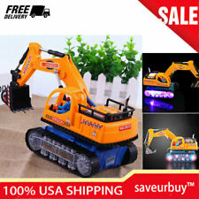 Toy Excavator Kids Car Diecast Construction Truck Digger Excavator Birthday Toys