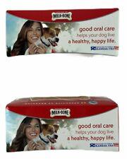 Milk-Bone Brushing Chews Lot of 2 Unopened Boxes 28 Dental Dog Treats Mini NEW