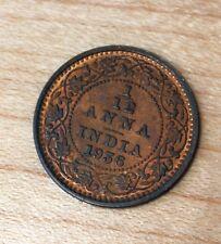 1936 India 1/12 Anna
