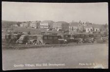 Eastport, ME Quoddy Village Rice Hill Development RPPC Postcard by G.E. Lowe