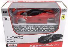 NIB Maisto 1:24 Ferrari Laferrari Red Assembly  Racing Car Diecast Brand New