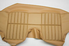 NEW JAGUAR XKE E-TYPE 2+2 SERIES 2 & SERIES 3 LEATHER REAR SEAT COVER