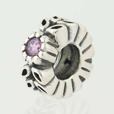 NEW Pandora Twice as Nice Charm - Sterling Silver Purple CZs Retired 791224CFP